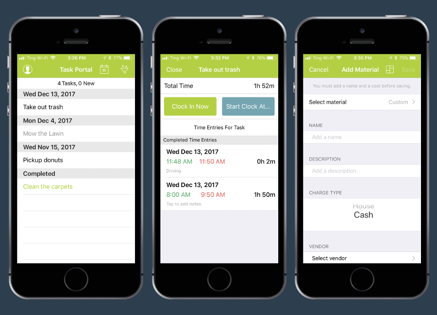 Native iOS Mobile App - Task Management System